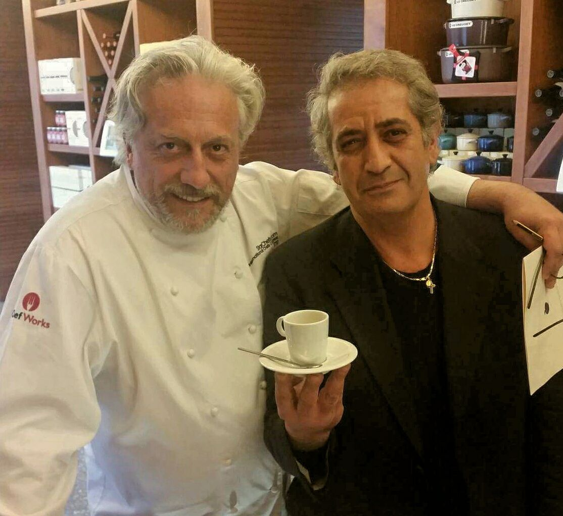 Roberto Messineo and Davide Scabin