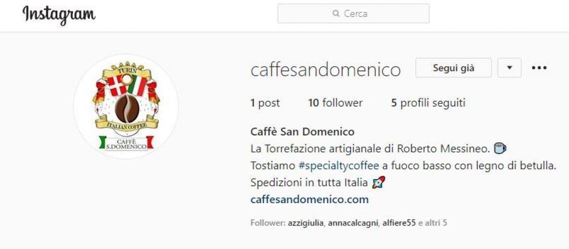 Caffè San Domenico su Instagram